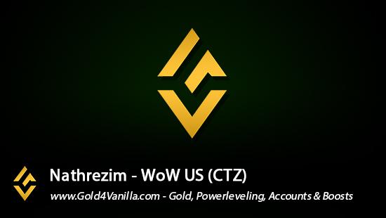Realm Information for Nathrezim US - WoW Shadowlands / BFA -