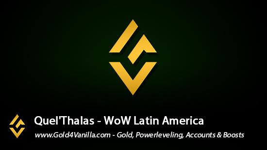 Realm Information for Quel'Thalas LA - WoW Shadowlands / BFA -
