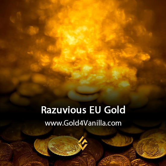 Gold, Power Leveling, Boosts, PvP, Quests and Achievements for Razuvious EU Realm - WoW Shadowlands / BFA - High PoP