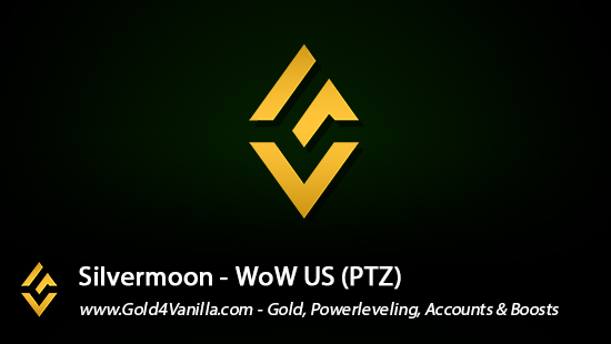 Realm Information for Silvermoon US - WoW Shadowlands / BFA -