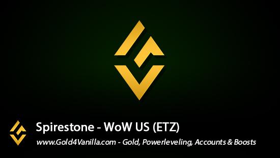 Realm Information for Spirestone US - WoW Shadowlands / BFA -