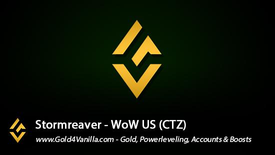 Realm Information for Stormreaver US - WoW Shadowlands / BFA -