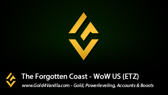 Realm Information for The Forgotten Coast US - WoW Shadowlands / BFA -