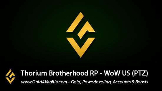 Realm Information for Thorium Brotherhood US - WoW Shadowlands / BFA -