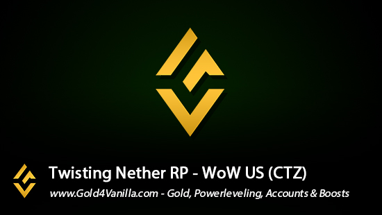 Realm Information for Twisting Nether US - WoW Shadowlands / BFA -