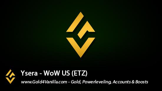 Realm Information for Ysera US - WoW Shadowlands / BFA -