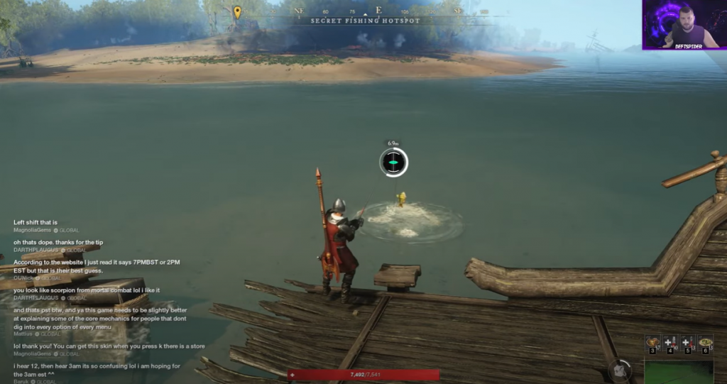 4) New World Fishing Guide How To Fish and Why - Fishing Tips & Tricks